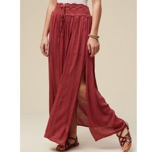 Altar'd State Boho Maxi Skirt